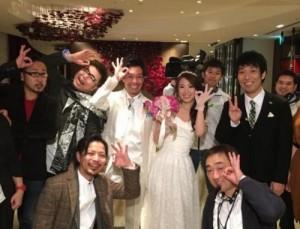 義永大悟 嫁 結婚式 画像