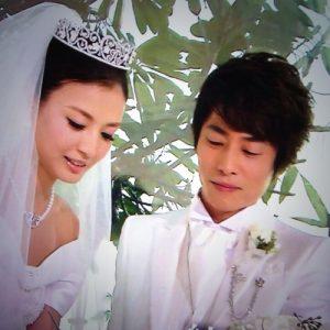 ロンブー淳 嫁 結婚式 画像