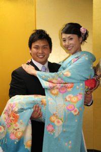 北斗晶 長男 結婚 画像