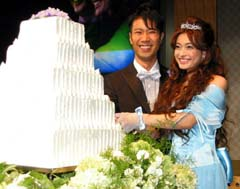 乙葉 藤井隆 結婚式 画像