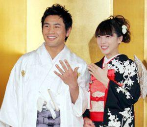 矢沢心 魔裟斗 結婚式 画像