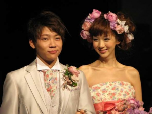 ほしのあき 三浦皇成 結婚式 画像
