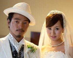 国母和宏 嫁 結婚式 画像