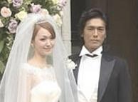 高橋克典 中西ハンナ 結婚式 画像