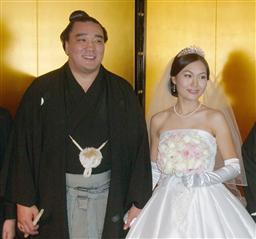 日馬富士 嫁 画像