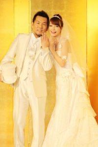 木下優樹菜 結婚 画像