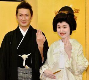 中村獅童 嫁 結婚式