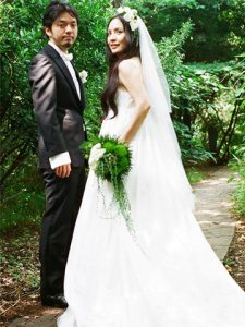 熊谷和徳 嫁 結婚式 画像