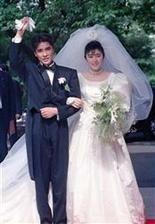 郷ひろみ 二谷友里恵 結婚式 画像