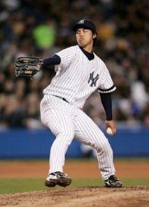井川慶 ヤンキース 画像