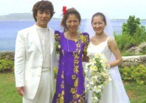 野口五郎 三井ゆり 結婚式 画像