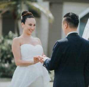 道端アンジェリカ 旦那 結婚式