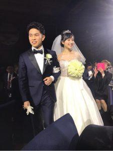 井岡一翔 谷村奈南 結婚式