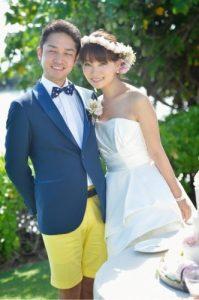 保田圭 旦那 結婚式 画像