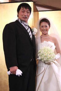 みずき舞 小橋建太 結婚式 画像