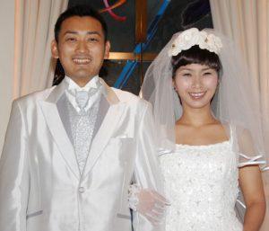 くわばたりえ 結婚式 画像