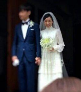 映美くらら 結婚式