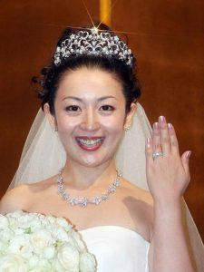 酒井美紀 結婚式