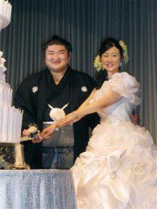 琴光喜 結婚式
