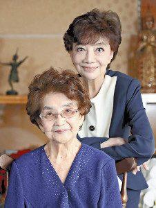 松島トモ子 母親