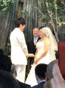 やしろ優 結婚式