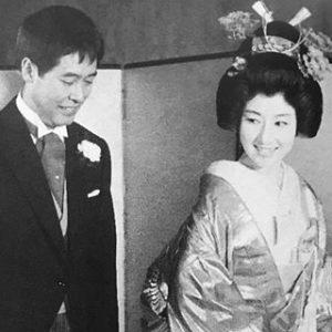 山本富士子 結婚式
