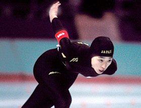 橋本聖子 スケート
