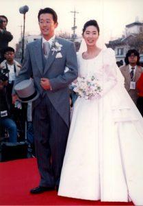 古田敦也 結婚式